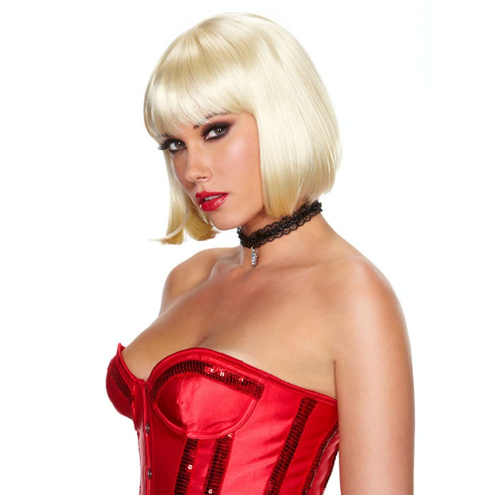 Erotic Fantasy Blonde Elite Парик с кудрявыми локонами блонд